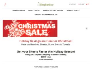 store.sleepbamboo.com screenshot