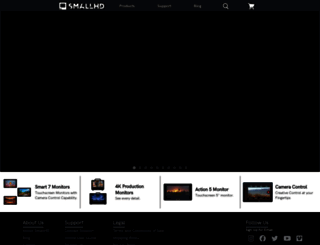 store.smallhd.com screenshot