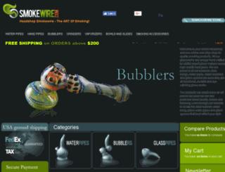store.smokewire.com screenshot