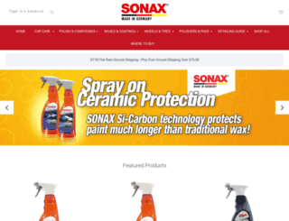 store.sonaxusa.com screenshot