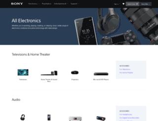 store.sony.com screenshot