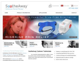 store.sootheaway.com screenshot