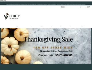store.spiritofhealthkc.com screenshot