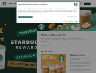 store.starbucks.co.uk screenshot