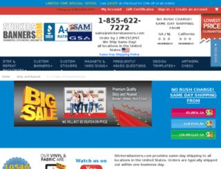 store.stickersbanners.com screenshot
