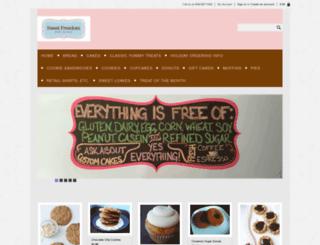 store.sweetfreedombakery.com screenshot