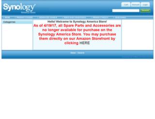 store.synologyamerica.com screenshot