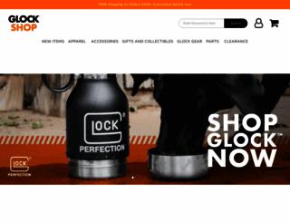 store.teamglock.com screenshot