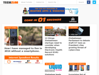 store.techzim.co.zw screenshot