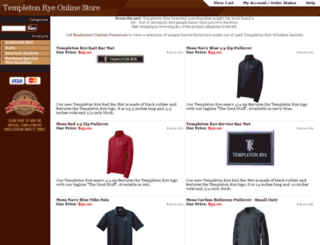 store.templetonrye.com screenshot