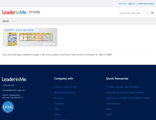 store.theleaderinme.org screenshot