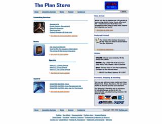 store.theplan.com screenshot