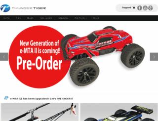 store.thundertiger.com screenshot