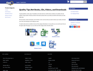 store.tips.net screenshot