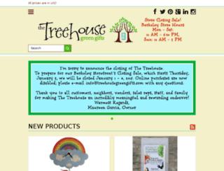 store.treehousegreengifts.com screenshot
