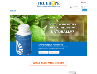 store.truehope.com screenshot