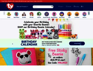 store.ty.com screenshot