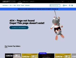store.ubi.com screenshot