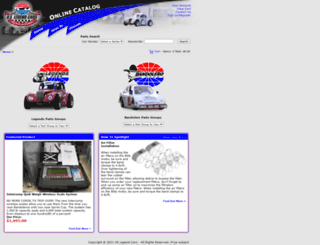 store.uslegendcars.com screenshot