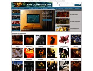 store.vangoghgallery.com screenshot
