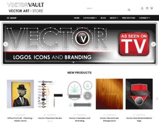 store.vectorvault.com screenshot