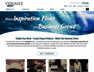 store.vervante.com screenshot
