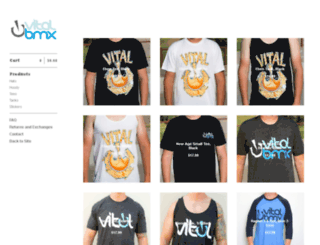 store.vitalbmx.com screenshot