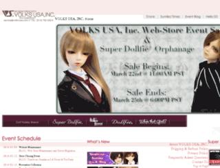 store.volksusa.com screenshot