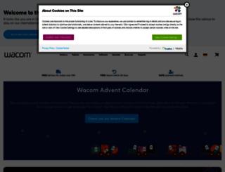 store.wacom.com screenshot