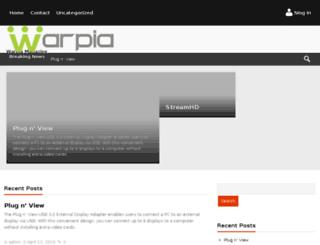 store.warpia.com screenshot
