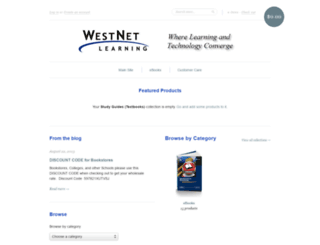 store.westnetlearning.com screenshot