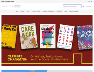 store.wexarts.org screenshot