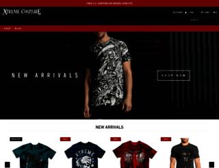 store.xtremecoutureclothing.com screenshot