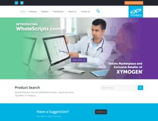 store.xymogen.com screenshot