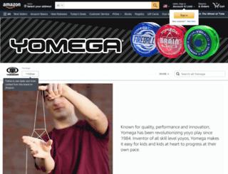 store.yomega.com screenshot