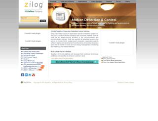store.zilog.com screenshot
