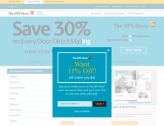 store0302.upsstoreprint.com screenshot