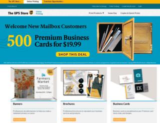 store4108.upsstoreprint.com screenshot
