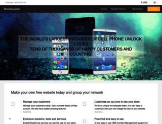 store4unlock.com screenshot
