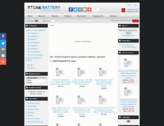 storebattery.co.uk screenshot