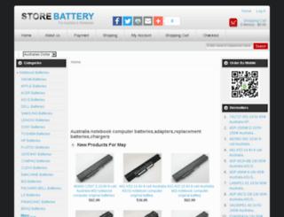 storebattery.com.au screenshot