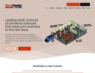storefeeder.com screenshot