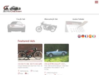 storefront.autocherish.com screenshot