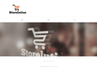 storelution.com.sg screenshot