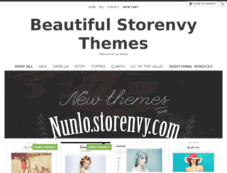 storenvythemes.storenvy.com screenshot