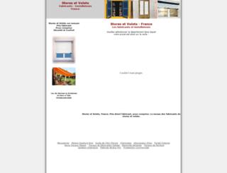 stores-volets.com screenshot