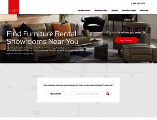 stores.cort.com screenshot