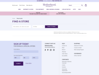 stores.destinationmaternity.com screenshot