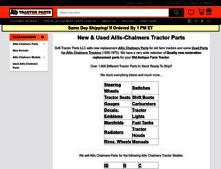 stores.djstractorparts.com screenshot