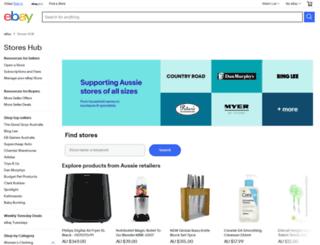 stores.ebay.com.au screenshot